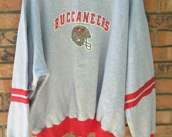 Tampa bay Buccaneers vintage sweatshirt mens 2XL