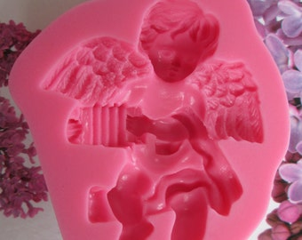 musician Angel silicone mold