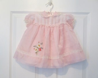 Baby Girl's Pink Party Dress