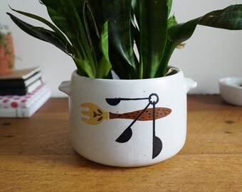 Clay Plant Pot Etsy
