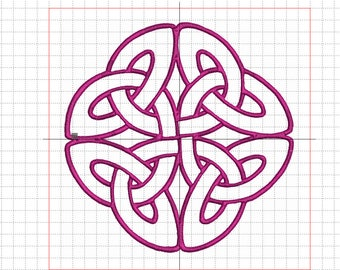 """""""Celtic knot 8"""" embroidery"""