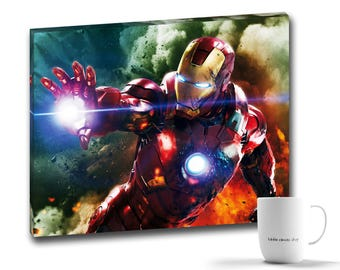Avenger's Iron Man Canvas Print