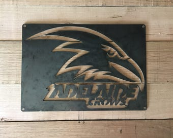 Adelaide Crows Football wall sign for the mancave