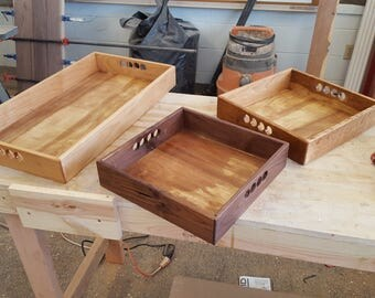 Custom Wood Serving Trays