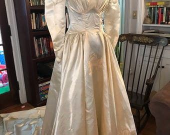 Gorgeous, Antique Wedding Gown