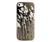 Floral iPhone 6 case Spring Wild Flower Silicone iPhone case Brown Photo Print Gift for her iPhone 5 case Romantic Birthday gift for wife
