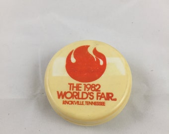 The 1982 World's Fair Collapsable Cup - Knoxville Tennessee