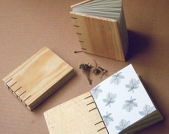 Wooden notebook,Pocket book,Handmade notebook,binding,Handmade binding,mini notebook,organic notebook,coptic binding,fruit box notebook