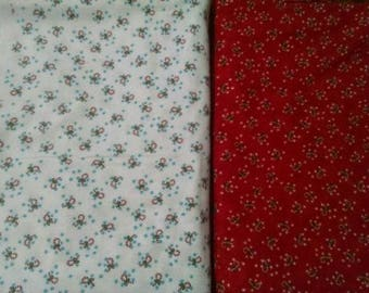 Deb strain fabric for moda Its snowing christmas candy canes lot pattern 19213