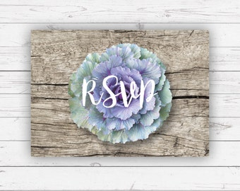 RSVP cards - Isabella design and beautifully printed