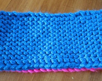 Infinity scarf knitted 3 years and +.