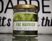 Fae Warrior  |  Throne of Glass inspired scented candle  |  Book Lovers, Book Inspired Candle, Literary Gift, Bookworms, Bookish Candle