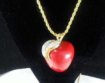 KENNETH JAY LANE Apple Necklace