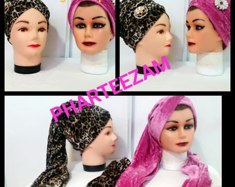 Single Wrap Velvet Turban