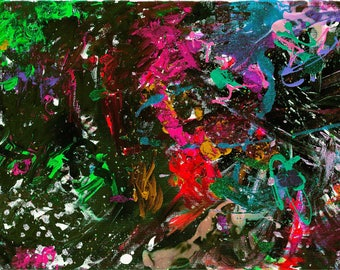 Art Poster - Large Poster - Abstract Office Art - Colorful Contemporary Art - Abstract Art Print - Modern Art - Wall Art Print