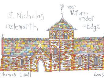 St Nicholas of Myra's Church, Ozleworth