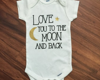 Love You to the Moon and Back Onsie