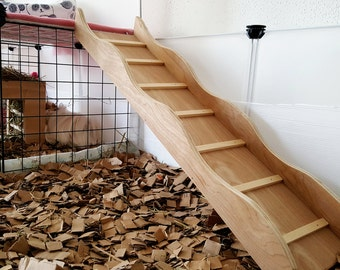 Guinea pig ramp, Rabbit ramp, Guinea pig ladder, Rabbit ladder, small animals, Stairs, Guinea pig, Rabbit,