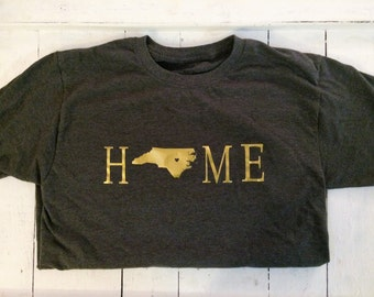 Home Raleigh NC State Shirt