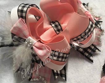5in Stacker Boutique Style Hairbow