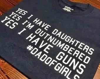 Dad Of Girls T-Shirt