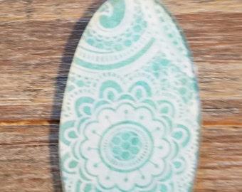 Lace Pattern Pendant