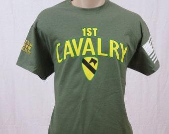 1st Cavalry Division Vietnam Veteran T-Shirt