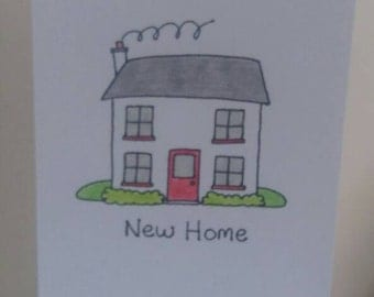 New Home A5 card size