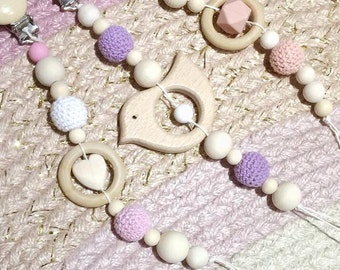 Personlised Dummy Chain with Teether