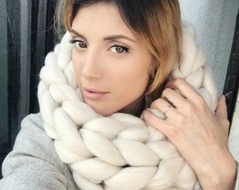 Ivory round neck cozy