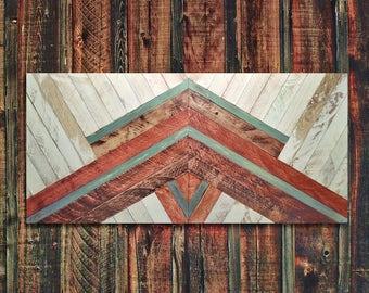 Wood Wall Panel, Wood Wall Decor, Original Wall Art, Geometric Wood Art, Wood Art