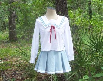 Anime School Uniform - Custom Seifuku for Anime Cosplay - Made to Look like Your Favorite Anime Character - Mitsuki Nase School Uniform