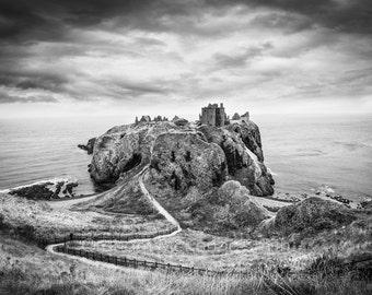 Dunnottar Castle , Scotland photography, Scotland art print, Scotland