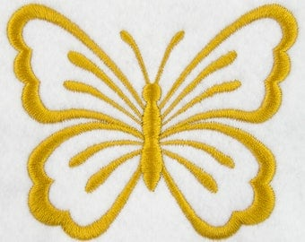 The Butterfly Embroidery Design 4x4'' Easter