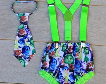 Disney Inside Out - Cake Smash Outfit