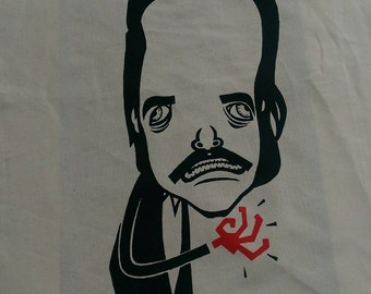 red right hand Nick Cave t-shirt