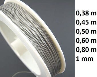 Jewelry wire, wire coating, jewelry wire, 0, 38 mm, 045 mm, 0, 50 mm, 0. 60 mm, 80 mm, 0.1 mm