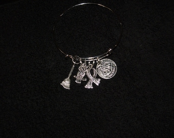 Harry Potter Themed Charm Bracelet