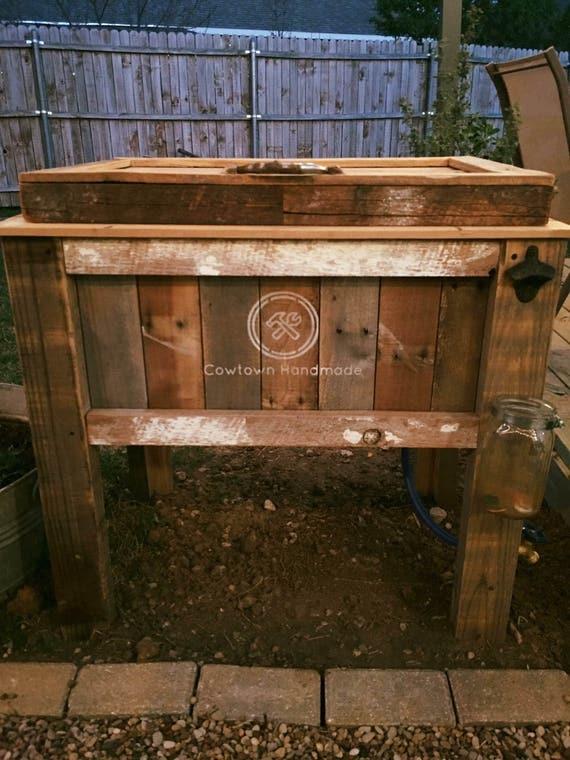 Wood Patio Cooler Plans: Reclaimed Wood Outdoor Patio Cooler
