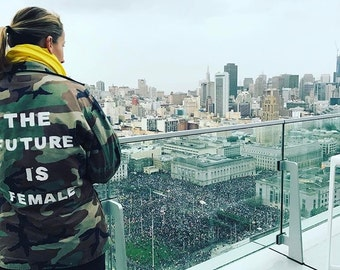 ULTIMATE PROTEST JACKET - Military Jacket with Custom Message