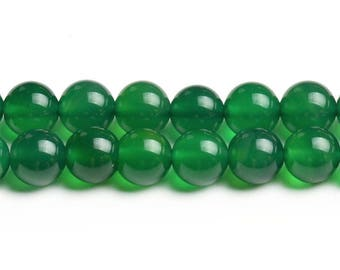 8mm green agate beads natural green agate 8mm green beads green gemstone beads round green agate green mala loose green agate stone supplies