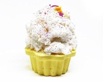No Sugar Bubble Frosting, Cupcake Bath Bomb, Bath Bomb Cupcakes, Cupcake Gifts, Gifts Under 10, Cupcake Bath Fizzy