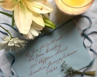 Envelope Addressing- Evangeline Style