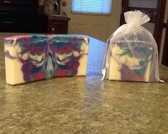 Patchouli scented handmade CP soap