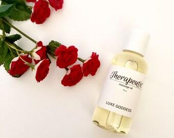 Therapeutic | Organic Massage Oil