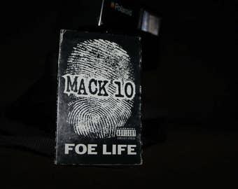 MACK 10 Foe Life Cassette Tape Music Vintage 1995 Priority Records Gansta Rap Gangster