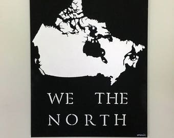 We The North Canada Painting