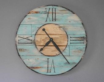 Nice 23'' wooden wall clock