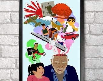 Memories Artwork Poster Print A3+ 13 x 19 in - 33 x 48 cm  Buy 2 get 1 FREE