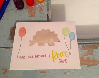 Dinosaur Birthday Cards